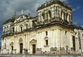Cathedral, Leon, Nicaragua — Stock Photo