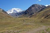 Aconcagua, Andach, Argentyna — Zdjęcie stockowe