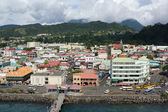Roseau, Dominica, Caribbean — Stock Photo