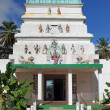 Stock Photo: Hindu Temple, Guadeloupe, Caribbean