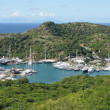English Harbour and Nelsons Dockyard, Antigua and Barbuda, Carib — Stock Photo #40808251