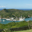 English Harbour and Nelsons Dockyard, Antigua and Barbuda, Carib — Stock Photo #40808447