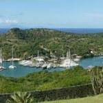 English Harbour and Nelsons Dockyard, Antigua and Barbuda, Carib — Stock Photo