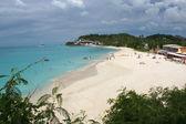 Beach, Antigua and Barbuda, Caribbean — Stock Photo