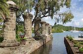 Nelsons Dockyard, Antigua and Barbuda, Caribbean — Stock Photo