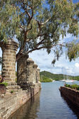 Nelsons Dockyard, Antigua and Barbuda, Caribbean — Stock Photo