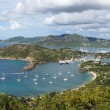 English Harbour and Nelsons Dockyard, Antigua and Barbuda, Carib — Stock Photo #41519519