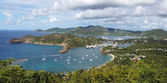 English Harbour and Nelsons Dockyard, Antigua and Barbuda, Carib — Stock Photo