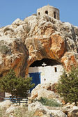 Cave church, Protaras, Cyprus — Stock Photo