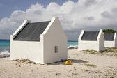 Slave huts, Bonaire, ABC Islands  — Zdjęcie stockowe