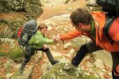 A helping hand — Foto de Stock
