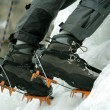 Ice climbing the North Caucasus. — Stock Photo #14443107