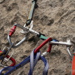 Royalty-Free Stock Photo: Rock climbing anchors