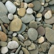 Wall pattern of gravel stone — Stock Photo