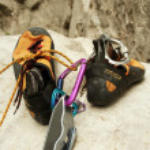 Climbing shoes — Stock Photo #14450295