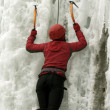 Ice climbing the North Caucasus. — Stock Photo #15416647