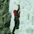 Ice climbing the North Caucasus — Stock Photo #15416743