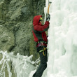 Ice climbing the North Caucasus — Stock Photo #15416781