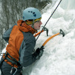 Ice climbing the North Caucasus - Lizenzfreies Foto