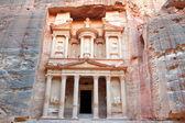 Petra, perdió rock ciudad de jordania. — Foto de Stock