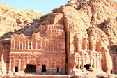 Petra, Lost rock city of Jordan. — Stock Photo