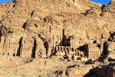 Petra, perso roccia città della giordania. — Foto Stock