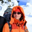 Winter hiking in snowshoes. — Stock Photo #17160795