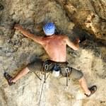 Rock climber. — Stock Photo #17359491