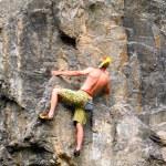 Rock climber. — Stock Photo #17359501