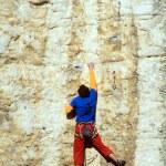 Rock climber. — Stock Photo #17359505