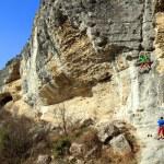 Rock climber. — Stock Photo #17359547