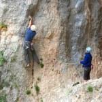 Rock climber. — Stock Photo #17359565