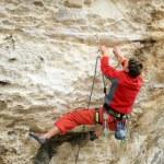 Rock climber. — Stock Photo #17359581