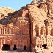 Ancient City of Petra Built in Jordan. — Stock Photo #18414283