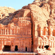 Ancient City of Petra Built in Jordan. — Stock Photo #18414297
