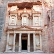 Ancient City of Petra Built in Jordan. - Stockfoto