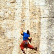 Rock climber — Stock Photo