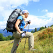 Summer hiking in the mountains. — Stock Photo #21757869