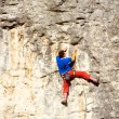 Rock climber — Stock Photo #21825793