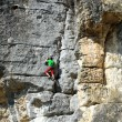 Rock climber — Stock Photo #21825809