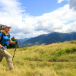 Summer hiking in the mountains. — Stock Photo #22187517
