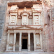 Petra, Lost rock city of Jordan. — Stock Photo #22848122