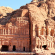 Petra, Lost rock city of Jordan. - Stock Photo