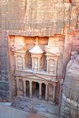 петра, потерял рок города иордании. — Стоковое фото