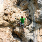 Rock climber — Stock Photo