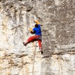 Rock climber — Stock Photo #24223413