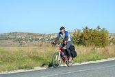 Bicycle tour. — Stock Photo