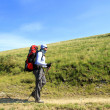 Summer hiking in the mountains. — Stock Photo #25531433