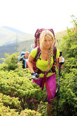 Summer hiking in the mountains. — Stock Photo