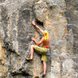Rock climber — Stock Photo #31056807